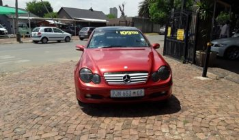 2002 Mercedes Benz C-Class Coupe C 230K Evolution For Sale in Gauteng full