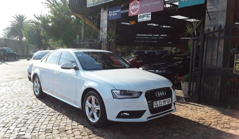 2013 Audi A4 Sedan 1.8 Tfsi Se Multitronic For Sale in Gauteng full
