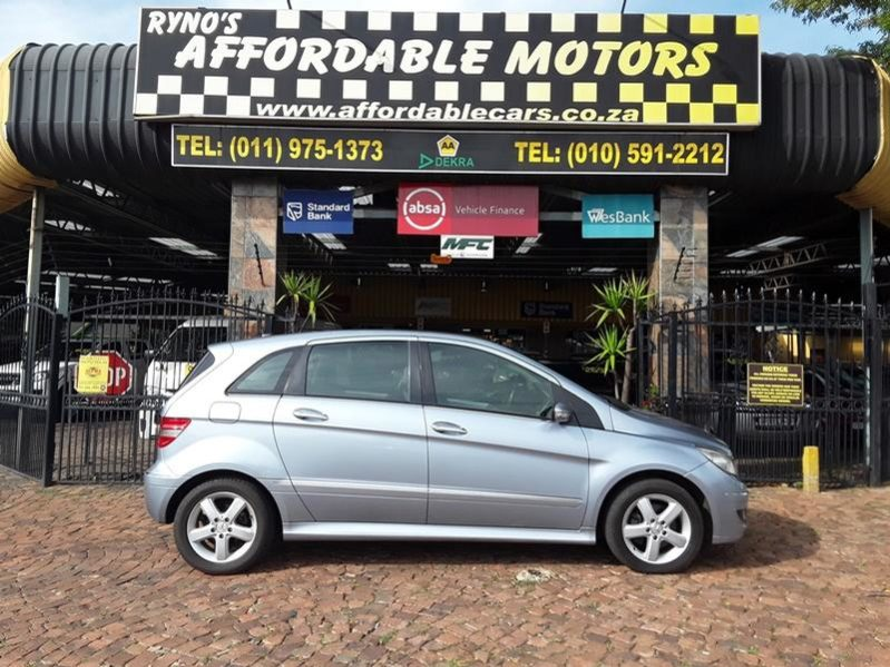 2007 Mercedes Benz B Class B 200 Turbo Autotronic For Sale In
