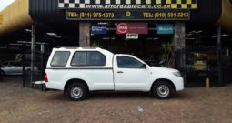 2012 Toyota Hilux 2.0 Vvt-I For Sale in Gauteng